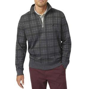 NWT Nautica Quarter Zip Fleece Pullover